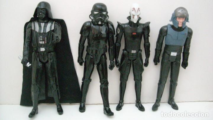 Figuras y Muñecos Star Wars: STAR WARS - 9 FIGURAS - Foto 2 - 153587106