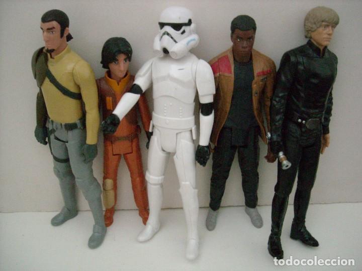 Figuras y Muñecos Star Wars: STAR WARS - 9 FIGURAS - Foto 3 - 153587106