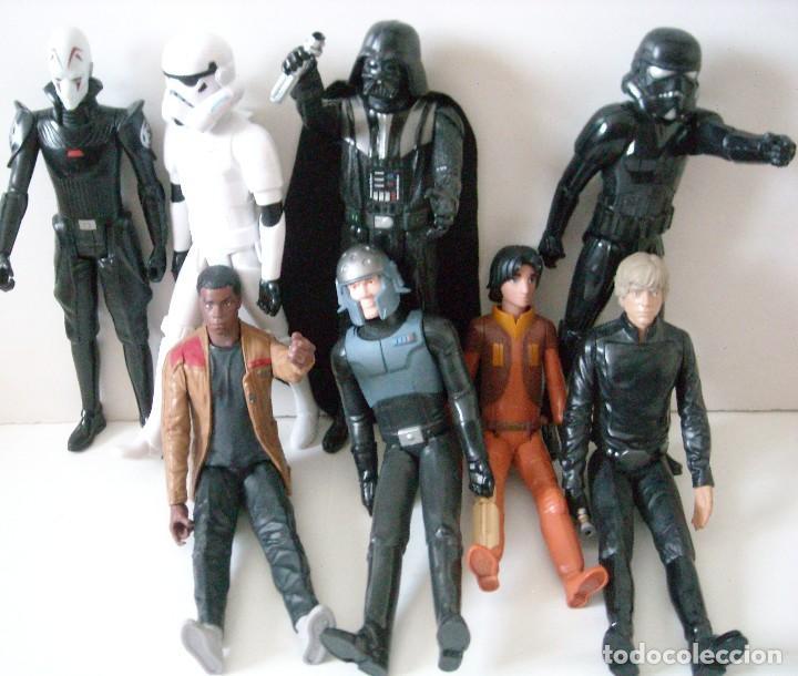 Figuras y Muñecos Star Wars: STAR WARS - 9 FIGURAS - Foto 4 - 153587106