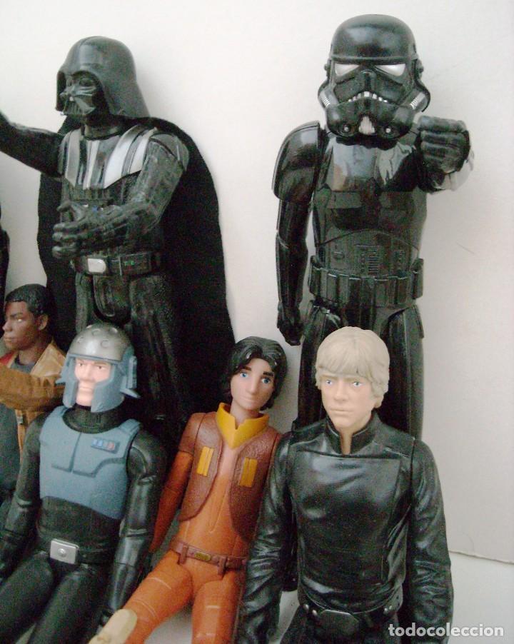 Figuras y Muñecos Star Wars: STAR WARS - 9 FIGURAS - Foto 5 - 153587106