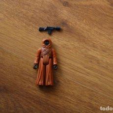 Figuras y Muñecos Star Wars: FIGURA ACCIÓN VINTAGE STAR WARS KENNER JAWA BLASTER 1977 GMFGI HONG KONG. Lote 153652181