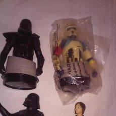 Figuras y Muñecos Star Wars: LOTE 4 BUSTOS STAR WARS -GOLDENLINK AD16I-. Lote 153894402