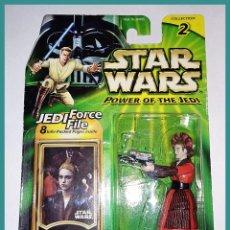 Figuren von Star Wars - STAR WARS # SABÉ # POWER OF THE JEDI - NUEVO EN SU BLISTER ORIGINAL DE HASBRO. - 154032002