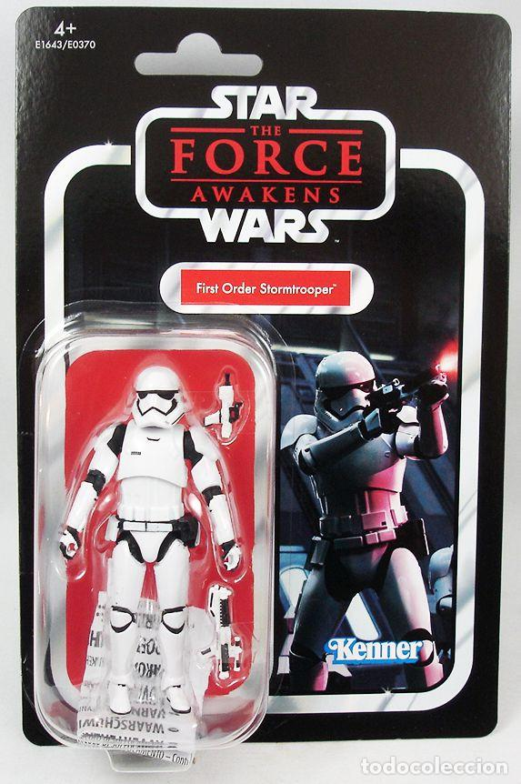 FIRST ORDER STORMTROOPER (THE FORCE AWAKENS) , VINTAGE. (Juguetes - Figuras de Acción - Star Wars)