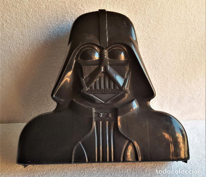 Figuren von Star Wars: STAR WARS ANTIGUO MALETIN MALETA DE DARTH VADER - CARRY CASE - KENNER 1980 - CON 32 FIGURAS - Foto 2 - 154451054