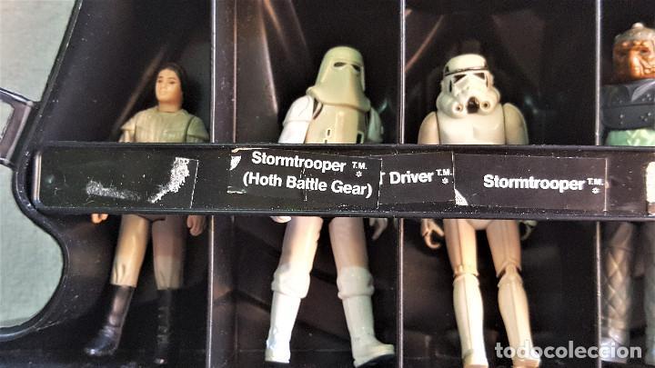 Figuren von Star Wars: STAR WARS ANTIGUO MALETIN MALETA DE DARTH VADER - CARRY CASE - KENNER 1980 - CON 32 FIGURAS - Foto 13 - 154451054