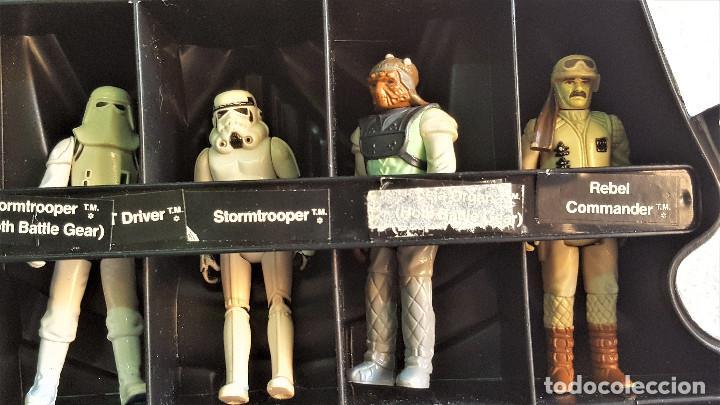 Figuren von Star Wars: STAR WARS ANTIGUO MALETIN MALETA DE DARTH VADER - CARRY CASE - KENNER 1980 - CON 32 FIGURAS - Foto 14 - 154451054