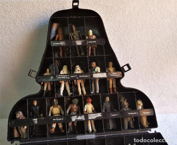 Figuren von Star Wars: STAR WARS ANTIGUO MALETIN MALETA DE DARTH VADER - CARRY CASE - KENNER 1980 - CON 32 FIGURAS - Foto 17 - 154451054
