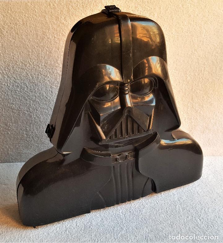Figuren von Star Wars: STAR WARS ANTIGUO MALETIN MALETA DE DARTH VADER - CARRY CASE - KENNER 1980 - CON 32 FIGURAS - Foto 22 - 154451054