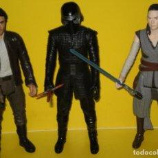 Figuras y Muñecos Star Wars: LOTE DE 3 FIGURAS EN SU CAJA ORIGINAL Y SIN ABRIR , STAR WARS . DISNEY * HASBRO * VEAN REF: DESCRIPC. Lote 154458406