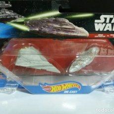 Figuras y Muñecos Star Wars: STAR DESTROYER VS MON CALAMARI CRUISER STAR WARS DE HOT WHEELS. Lote 155212030