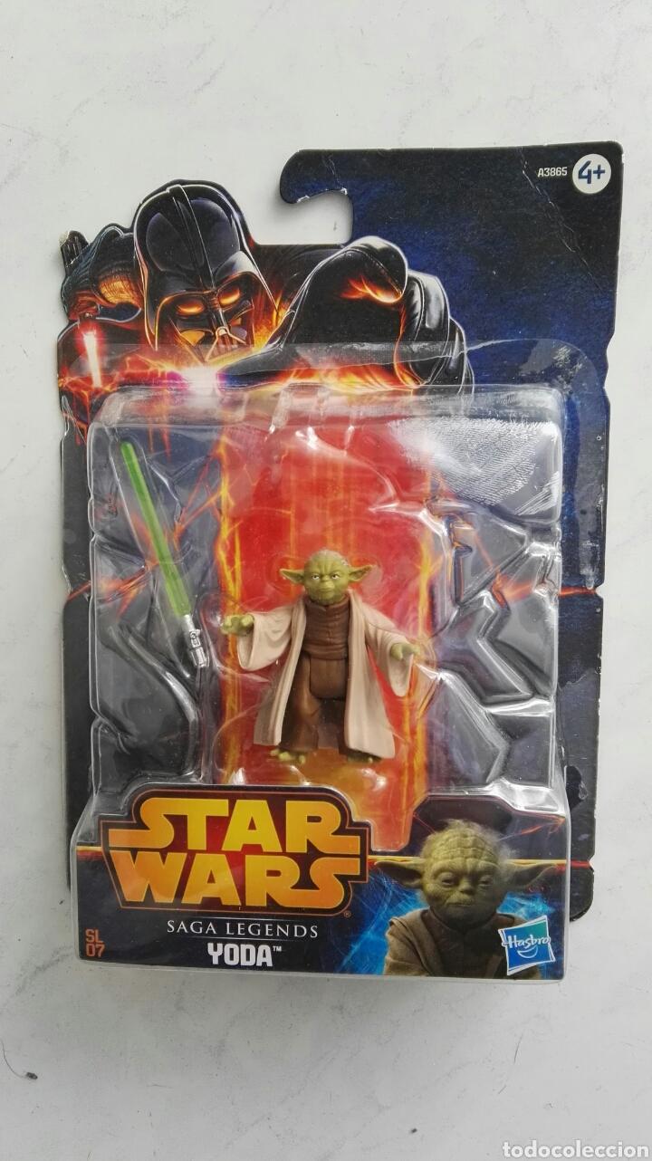 STAR WARS SAGA LEGENDS YODA (Juguetes - Figuras de Acción - Star Wars)
