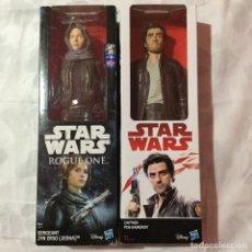 Figuras y Muñecos Star Wars: MUÑECOS DOS:JEDHA&POE DAMERON. Lote 155603742