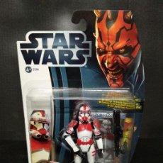Figuras y Muñecos Star Wars: STAR WARS MOVIE HEROES SHOCK TROOPER - HASBRO - NUEVO. Lote 155873102