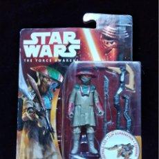Figuras y Muñecos Star Wars: STAR WARS THE FORCE AWAKENS : CONSTABLE ZUVIO. HASBRO. A ESTRENAR EN BLISTER. Lote 155913322