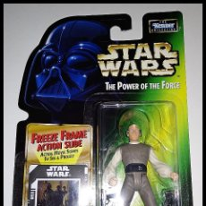 Figuras y Muñecos Star Wars: STAR WARS # LOBOT # THE POWER OF THE FORCE - NUEVO EN SU BLISTER ORIGINAL DE KENNER.. Lote 155952658