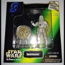 Figuras y Muñecos Star Wars: STAR WARS # SNOWTROOPER # THE POWER OF THE FORCE - NUEVO EN SU BLISTER ORIGINAL DE KENNER.. Lote 155961858