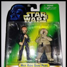 Figuras y Muñecos Star Wars: STAR WARS # MAX REBO BAND PAIRS # BARQUIN D'AN - DROOPY MCCOOL, THE POWER OF THE FORCE.. Lote 155966094