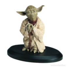 Figuras y Muñecos Star Wars: STAR WARS ATTAKUS YODA 1:10 ELITE COLLECTION ESTATUA DISNEY NO GENTLE GIANT SIDESHOW KOTOBUKIYA. Lote 156911354