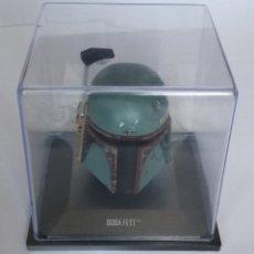 Figuras y Muñecos Star Wars: FIGURA STAR WARS: CASCO DE BOBA FETT - COLECCION CASCOS LA GUERRA DE LAS GALAXIAS, ALTAYA. Lote 156922174