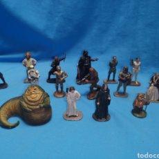 Figuras y Muñecos Star Wars: LOTE DE 16 FIGURAS DE PLOMO STAR WARS LUCASFILM 2005. VER Y LEER. Lote 157328816