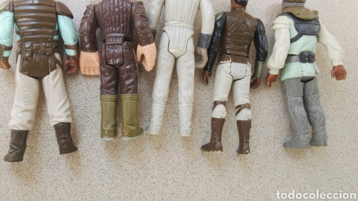 Figuras y Muñecos Star Wars: Lote figuras Star Wars vintage Kenner - Foto 9 - 147437966