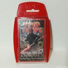 Figuras y Muñecos Star Wars: STAR WARS CARTAS EPISODE I TOP TRUMPS. Lote 157989042