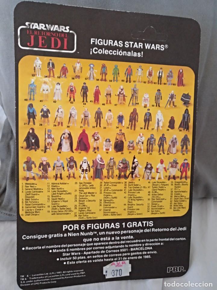 STAR WARS VINTAGE BIKER SCOUT PBP (Juguetes - Figuras de Acción - Star Wars)