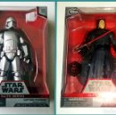 Figuras y Muñecos Star Wars: LOTE STAR WARS # CAPTAIN PHASMA Y KYLO REN # ELITE SERIES, DIE CAST, THE FORCE AWAKENS-18 CM APROX.. Lote 105374146
