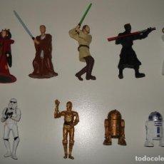 Figuras y Muñecos Star Wars: STAR WARS. PRECIOSO LOTE DE 9 FIGURAS PEQUEÑAS. . Lote 158934782
