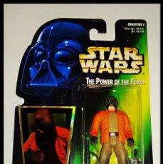 Figuras y Muñecos Star Wars: STAR WARS # PONDA BABA # THE POWER OF THE FORCE - 11 CM - NUEVO EN SU BLISTER ORIGINAL DE KENNER.. Lote 110035979