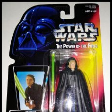 Figuren von Star Wars - STAR WARS # LUKE SKYWALKER # THE POWER OF THE FORCE -11 CM- NUEVO EN SU BLISTER ORIGINAL DE KENNER. - 160172754