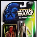 Figuras y Muñecos Star Wars: STAR WARS # HAN SOLO # THE POWER OF THE FORCE - 11 CM - NUEVO EN SU BLISTER ORIGINAL DE KENNER.. Lote 160173310