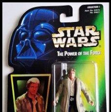 Figuras y Muñecos Star Wars: STAR WARS # HAN SOLO # THE POWER OF THE FORCE - 11 CM - NUEVO EN SU BLISTER ORIGINAL DE KENNER.. Lote 160173310