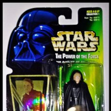 Figuren von Star Wars - STAR WARS # LUKE SKYWALKER # THE POWER OF THE FORCE -11 CM- NUEVO EN SU BLISTER ORIGINAL DE KENNER. - 160174974