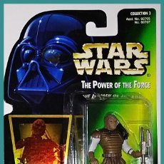 Figuren von Star Wars - STAR WARS # WEEQUAY # THE POWER OF THE FORCE - 11 CM - NUEVO EN SU BLISTER ORIGINAL DE KENNER. - 160178714