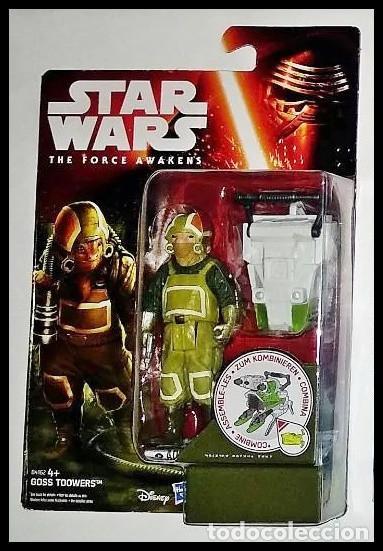 STAR WARS # GOSS TOOWERS # THE FORCE AWAKENS - 11 CM - NUEVO EN SU BLISTER ORIGINAL DE HASBRO.. (Juguetes - Figuras de Acción - Star Wars)