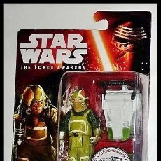 Figuras y Muñecos Star Wars: STAR WARS # GOSS TOOWERS # THE FORCE AWAKENS - 11 CM - NUEVO EN SU BLISTER ORIGINAL DE HASBRO... Lote 160297482