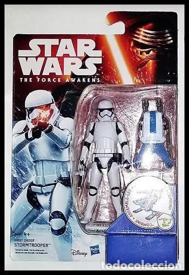 STAR WARS # STORMTROOPER # THE FORCE AWAKENS - 11 CM - NUEVO EN SU BLISTER ORIGINAL DE HASBRO.. (Juguetes - Figuras de Acción - Star Wars)