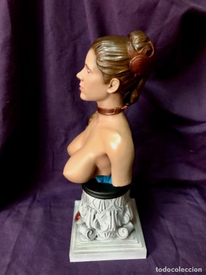 Figuras y Muñecos Star Wars: Star wars Busto princesa Leia slave escala 1/2 no sideshow - Foto 5 - 162715430