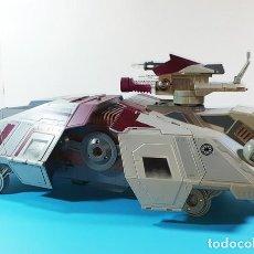 Figuras y Muñecos Star Wars: DESPIECE VEHICULO AT-TE STAR WARS CLONE WARS, HASBRO LFL 57 CM LARGO, LO QUE SE VE EN LAS IMAGENES. Lote 160626074