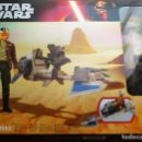 Figuras y Muñecos Star Wars: SPEEDER BIKE POE DAMERON STAR WARS MOTO SPEEDER HASBRO. Lote 160727062