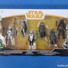 Figuras y Muñecos Star Wars: STAR WARS PACK 6 FIGURAS FORCE LINK 2.0 SOLO. Lote 161156666