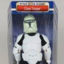 "Figuras y Muñecos Star Wars: FIGURA TROOPER STROMTROOPER - 12"" (30 CM) - STAR WARS ATTACK OF THE CLONES - HASBRO. Lote 161179025"
