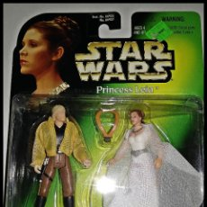 Figuren von Star Wars - STAR WARS # PRINCESS LEIA Y LUKE SKYWALKER # POWER OF THE FORCE - 11 CM - NUEVO EN BLISTER KENNER. - 161264622