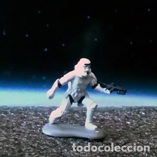 SOLDADO IMPERIAL STORMTROOPER 2 DE 4 / STAR WARS / MICRO MACHINES MICROMACHINES / MINIATURA (Juguetes - Figuras de Acción - Star Wars)