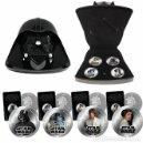 Figuras y Muñecos Star Wars: MONEDAS STAR WARS. ESTUCHE CASCO DARTH VADER. Lote 161994110