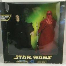 """Figuren von Star Wars - Set Star Wars - Palpatine & Imperial Guard - Power of the force - Kenner - 30 cm (12"""") - 162456330"""
