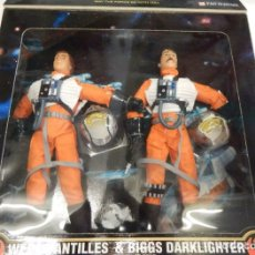 "Figuren von Star Wars - Star Wars - Biggs Darklighter & Capt. Antilles - Power of the force - Kenner - 40cm (12"") - 162456470"
