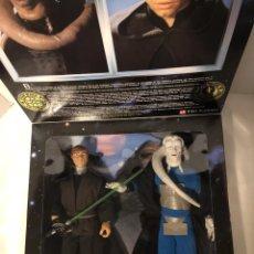 """Figuras y Muñecos Star Wars: FIGURA LUKE SKYWALKER & BIB FORTUNA - STAR WARS - POWER OF THE FORCE - KENNER - 30CM (12""""). Lote 162457336"""